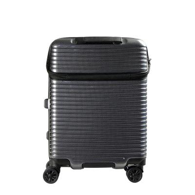 SIFFLER PC+ABS ZIPPER TROLLEY CASE W/TSA SF02-LIM2160