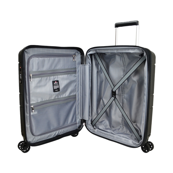 ECHOLAC PP ZIPPER TROLLEY CASE PW003