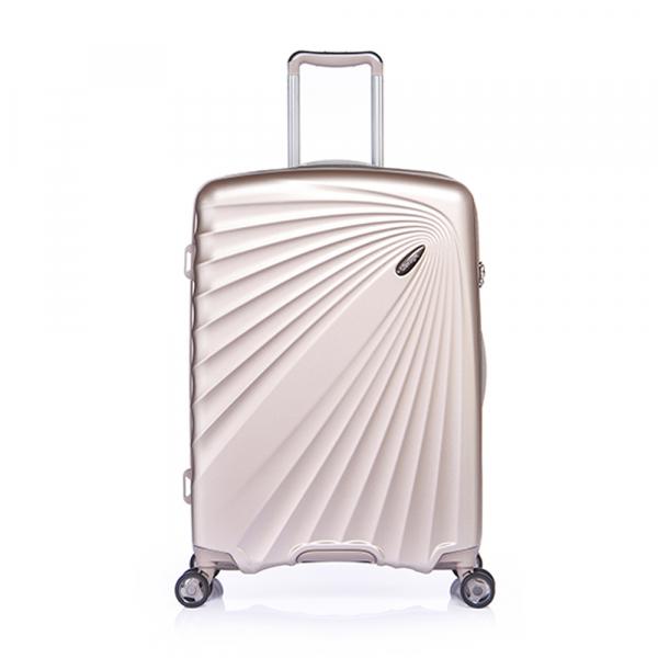 VERAGE ABS/PC ZIPPER TROLLEY CASE W/TSA VR02-GM18089W