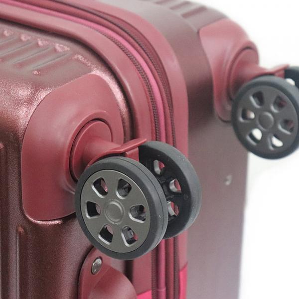 HUSH PUPPIES ABS+PC ZIPPER TROLLEY CASE HP02-694021